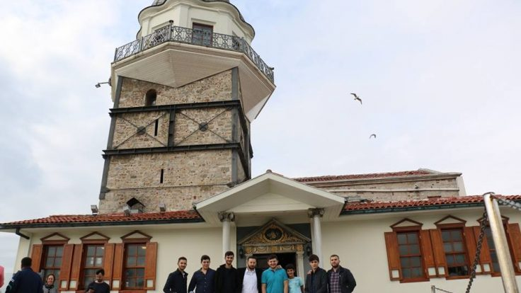 Gözbebeklerimizle Kız Kulesi