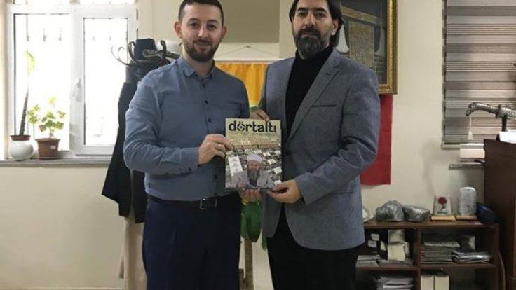 Agd Adana il başkanı Değerli Abdülaziz Kıranşal hocamız misafirimizdi..Gençlerimiz istifade ettiler..